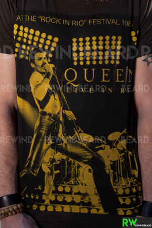 T-shirt Homme Rock Freddie Mercury Queen