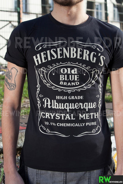 T-shirt Homme Exclusive A Heisenberg's Breaking Bad Crystal Meth Jack Style