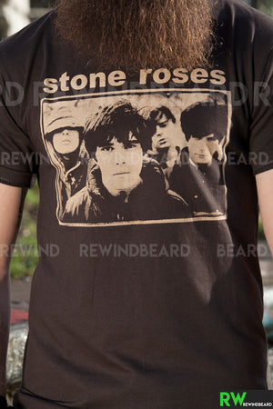 T-shirt Homme Rock Stone Roses Vintage Style