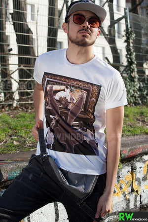 T-shirt Homme Exclusive A Bunny Rabbit Film X  Humour Décalé