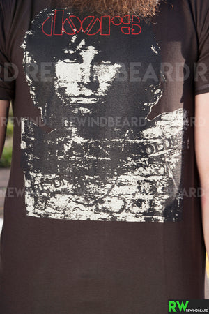 T-shirt Homme Rock Jim Morrison The Doors Vintage Style
