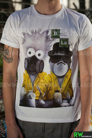 T-shirt Homme Exclusive A Breaking Bad Bad Labs Heisenberg Jessie Pinkman Humour !!