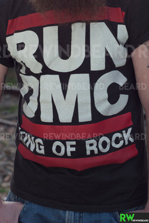 T-shirt Homme Run DMC D.M.C King Of Rock Vintage Style