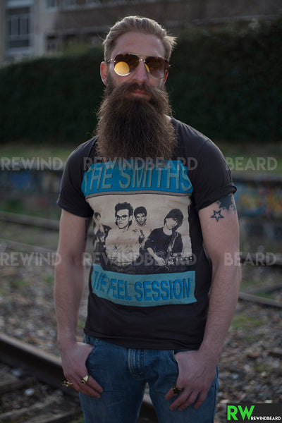"T-shirt Homme Rock The Smith ""The Peel Sessions"" Vintage Style"