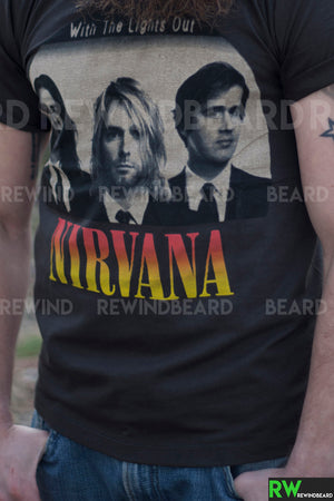 T-shirt Homme Rock Nirvana Kurt Cobain