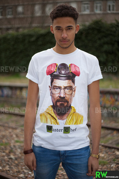 T-shirt Homme Exclusive A Breaking Bad Master Chef Heisenberg !!
