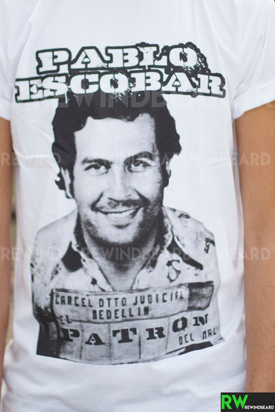 T-shirt Homme Exclusive A Pablo Escobar Cartel Medellín !!