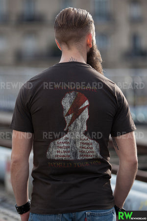 T-shirt Rock Homme David Bowie