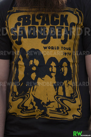 T-shirt Rock Homme Black Sabbath