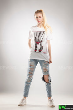 T-shirt Femme Exclusive A Culotte Collant Sexy Trash