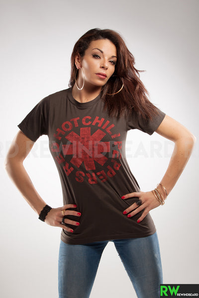 T-shirt Femme Red Hot Chili Peppers Logo vintage style