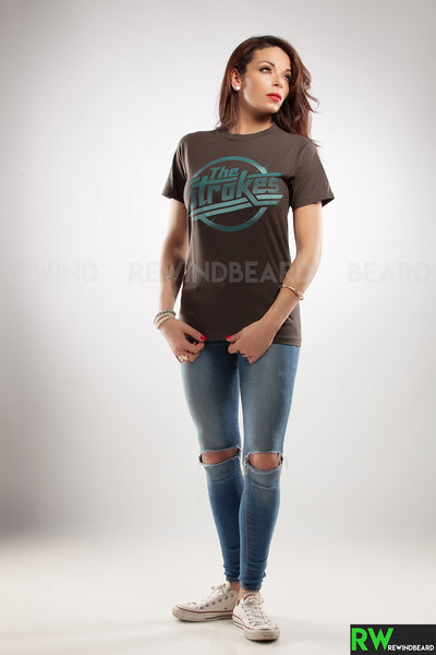 T-shirt Femme The Strokes Logo vintage style
