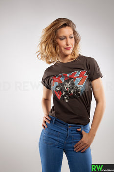 T-shirt Femme Rock Kiss Style vintage L'incontournable