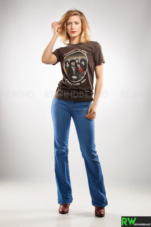 T-shirt Femme ACDC Highway To Hell