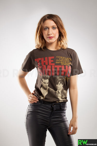 "T-shirt Femme Rock The Smith ""Complete Chord Songbook"" vintage Style"