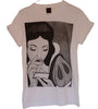 T-shirt Femme Exclusive A Blanche Neige Coke Cocaine Humour Décalé!!