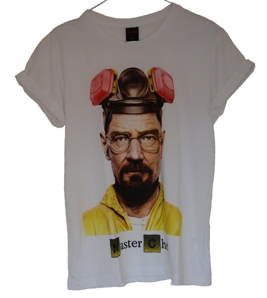 T-shirt Femme Exclusive A Breaking Bad Master Chef Heisenberg !!