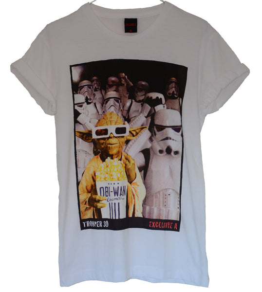T-shirt Femme Exclusive A Yoda Trooper Star Wars Cinema