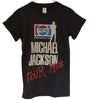 T-shirt Pop Rock Michael Jackson Pepsi Tour 1988
