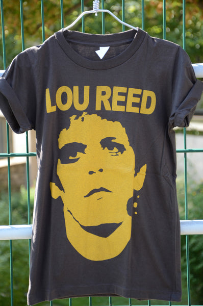 T-shirt Rock Femme Lou Reed Rock N'Roll Animal Style vintage Neuf