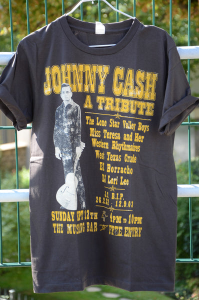 T-shirt Rock Femme johnny Cash A Tribute Couleur Style vintage Neuf