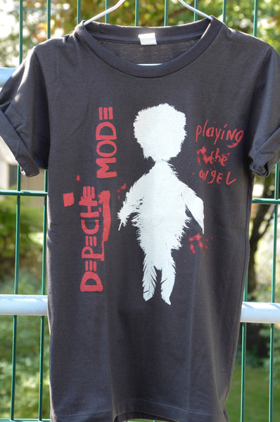 "T-shirt Rock Homme Depeche Mode ""Playing the Angel"" Vintage Style"
