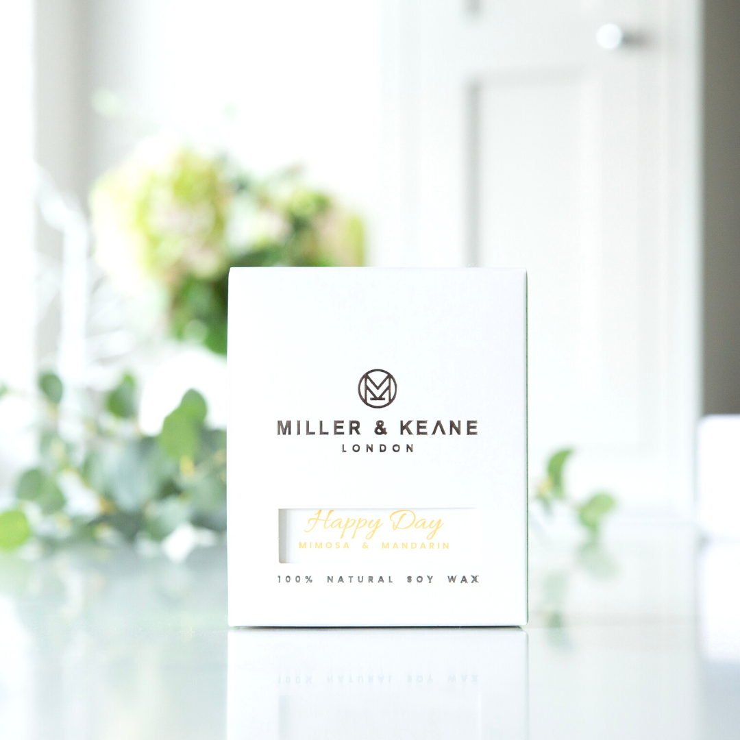 Happy Day - Luxury Soy Candle | Mimosa & Mandarin