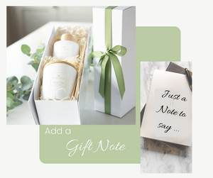 Complimentary - Gift Note