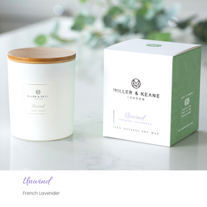 'Unwind' - Luxury Soy Candle | French Lavender