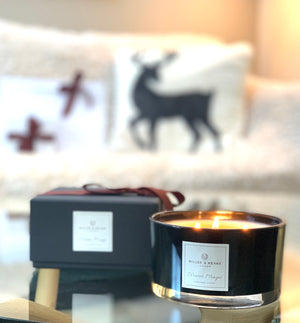 Winter Magic - Luxury 3 Wick Soy Candle | Cinnamon Sticks
