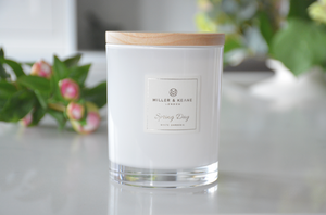 'Spring Day' -  Luxury Soy Scented Candle | White Gardenia
