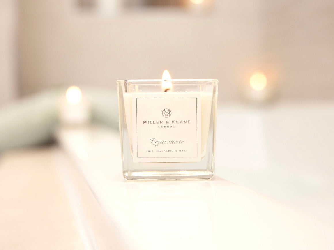 'Rejuvenate' Mini Travel Size Candle | Lime, Basil & Mandarin