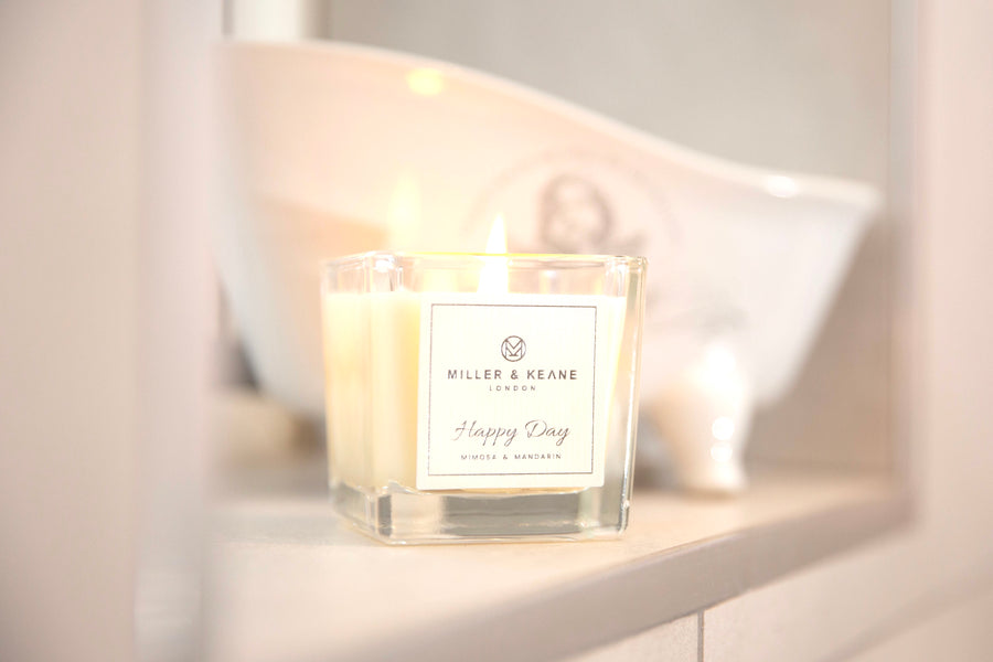 'Happy Day' - Mini Travel Size Candle | Mimosa & Mandarin