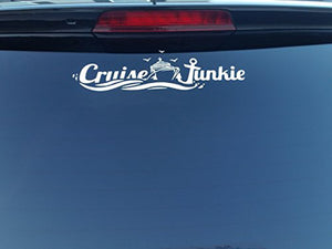 White Vinyl Cruise Decal