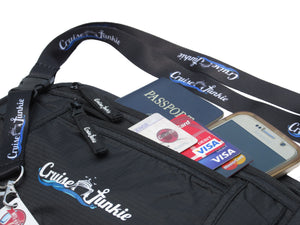 Caribbean Cruise Accessories, Cruise Accessories, Cruise Junkie Money Belt, Cruise Junkie SeaSafe, Cruise Money Belt, RFID Blocking Cruise Money Belt, Cruise Travel Money Belt, Cruise Passport Holder, Cruise Waist Wallet, Cruise Waste Pouch, Cruise Travel Bag