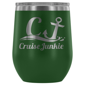Cruise Junkie™ 12oz. Wine Tumbler