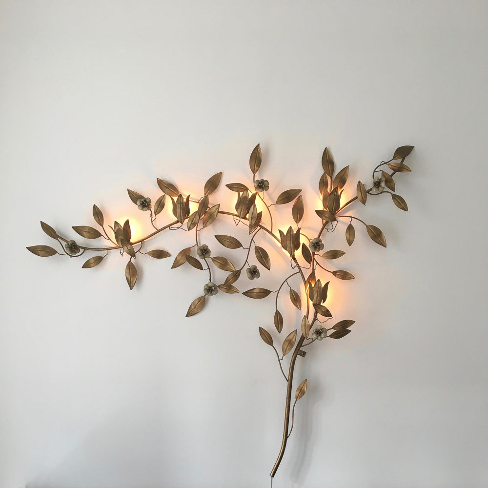 Mid Century Oversized Wall Light