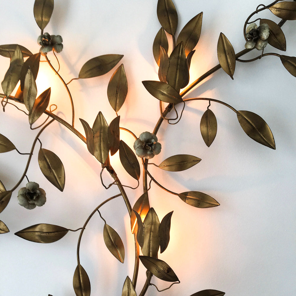 Mid-Century Oversized Wall Light