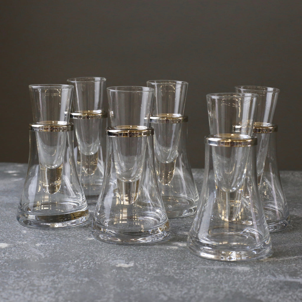Set of 6 Vodka Glasses