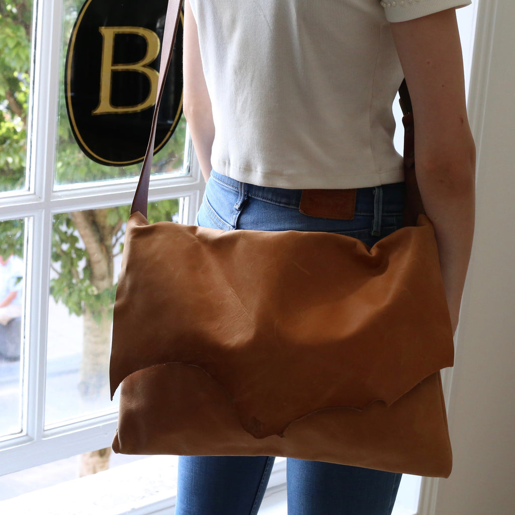 Leather Goods - The Messenger Handbag