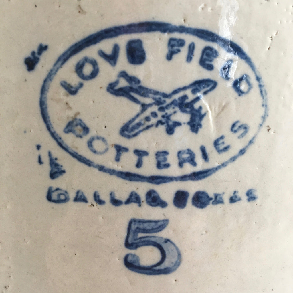 Love Field Stoneware Crocks