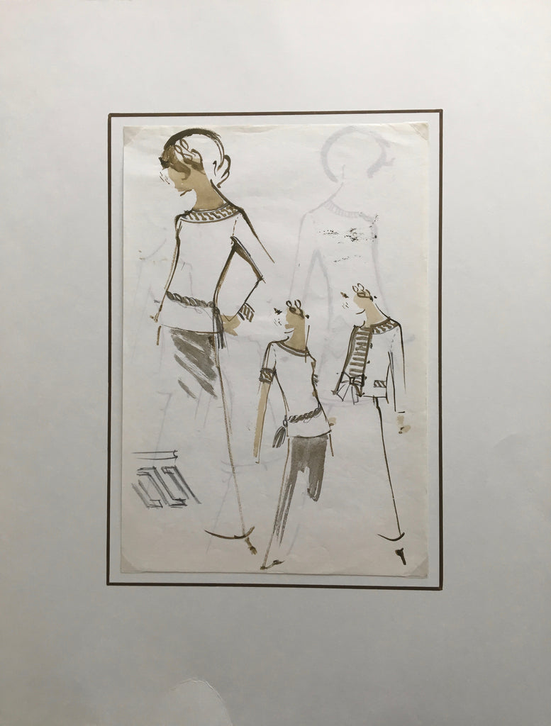 Original Sketch - Balmain