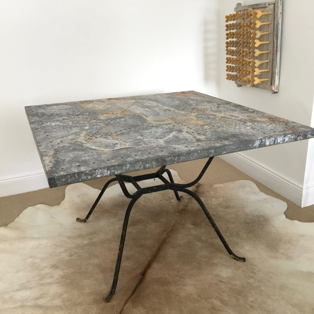 Texas Star Zinc Table