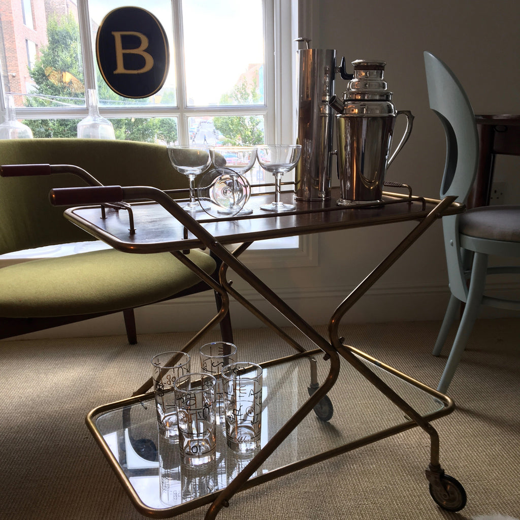 1950's Drinks Trolley