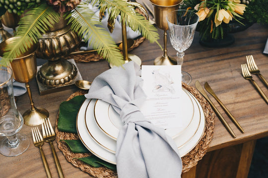 Colonial Chic Styled Shoot