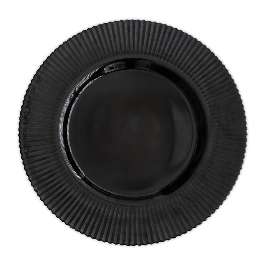 CHARGER PLATE - MIDNIGHT BLUE LINED