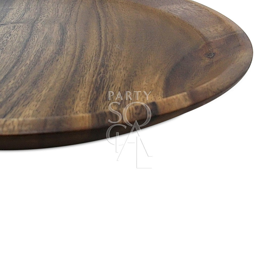 CHARGER PLATE - NATURAL WOOD
