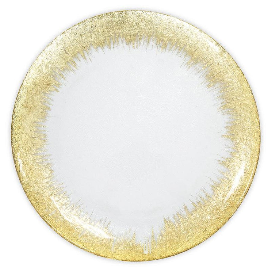 CHARGER PLATE - GOLD SKYLINE