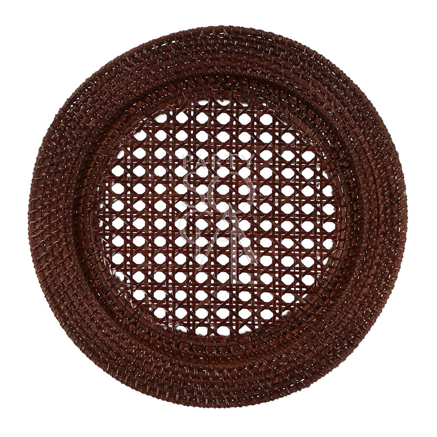 CHARGER PLATE - RATTAN