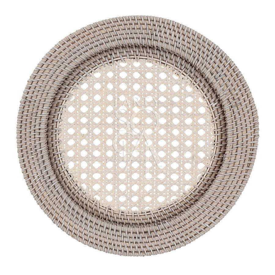 CHARGER PLATE RATTAN